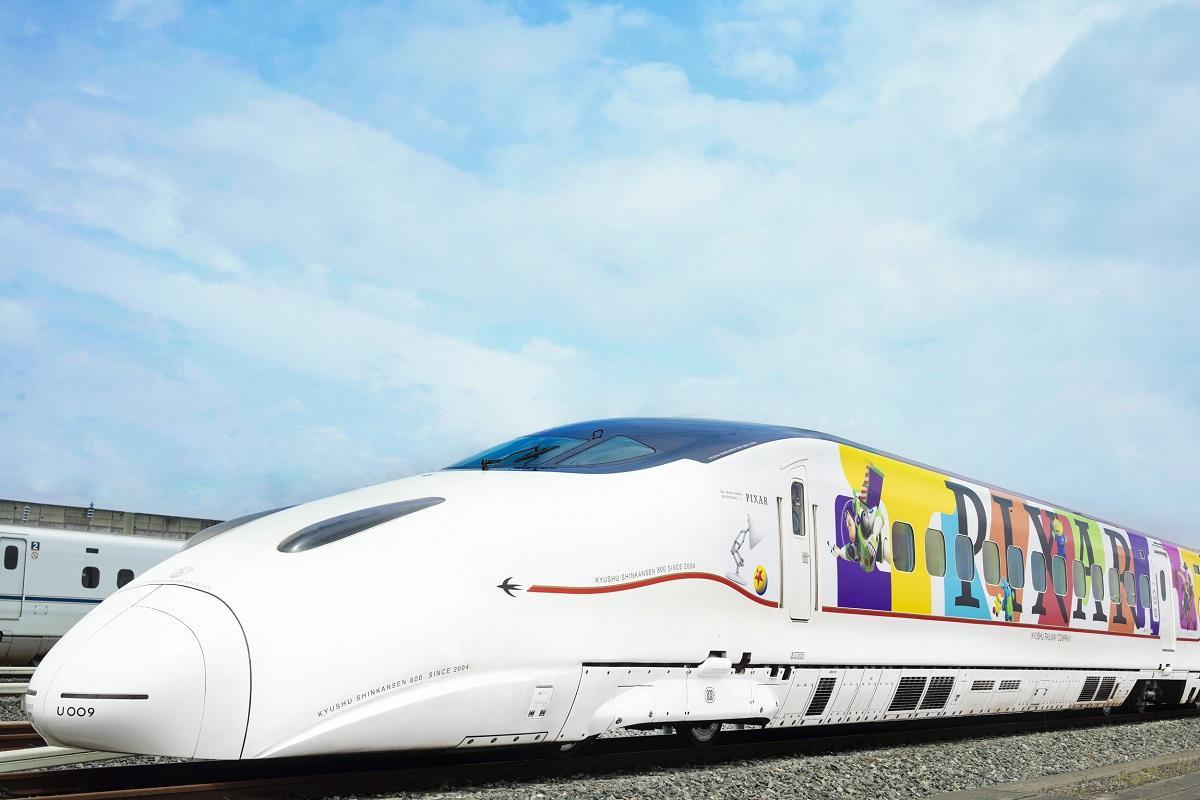 「JR 九州 WAKU WAKU ADVENTURE 新幹線」©Disney