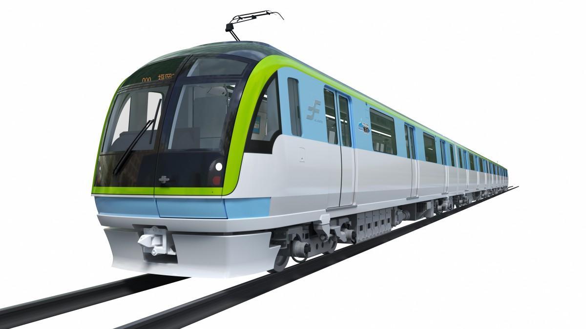 新車両「3000A系」(画像はイメージ)
