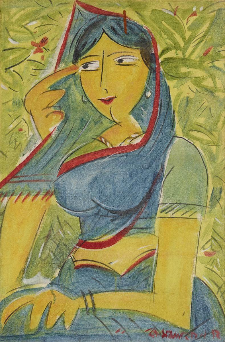 カムルル・ハサン(バングラデシュ)「女性」 1972年