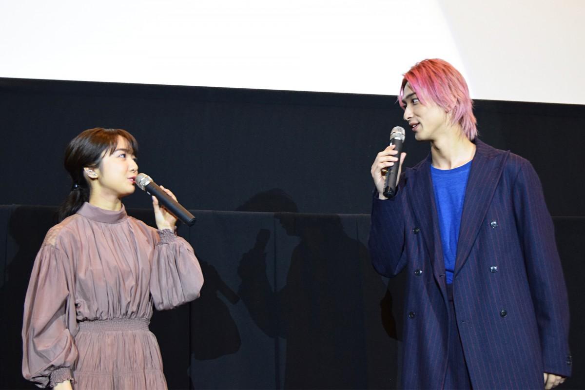 博多で上白石萌音さん、横浜流星さん映画舞台あいさつ 横浜さん「ばり好いとーよ」 - 博多経済新聞
