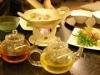 セントラーザ博多で「清涼お茶会席」-九州の銘茶のお茶冷しゃぶも