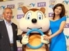 ETC普及促進キャンペーンで藤原紀香さん来福-NEXCO西日本