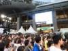 JR博多駅前広場にラグビーワールドカップ福岡ファンゾーン