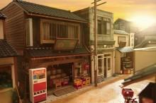 博多阪急で「ドールハウスフェア」 「昭和通商店街」作品展示やミニチュアパーツ販売