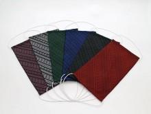 サヌイ織物が「博多織工芸館」で博多織マスク無料配布