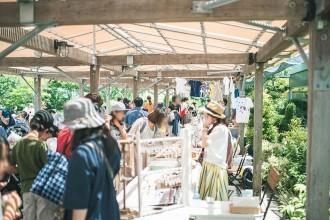JR博多シティ屋上で「天空の参道マルシェ」 北九州の「海辺のカモメ市」運営が企画