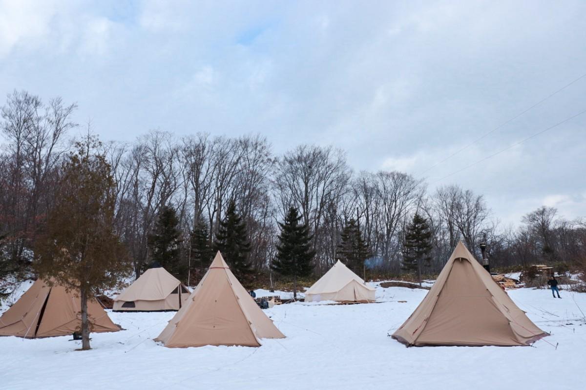 道南地域では初めての通年営業型キャンプ場が大沼国定公園にオープン