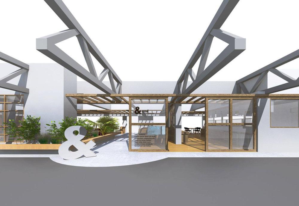 「カフェ/トラットリア アンド」店舗イメージ