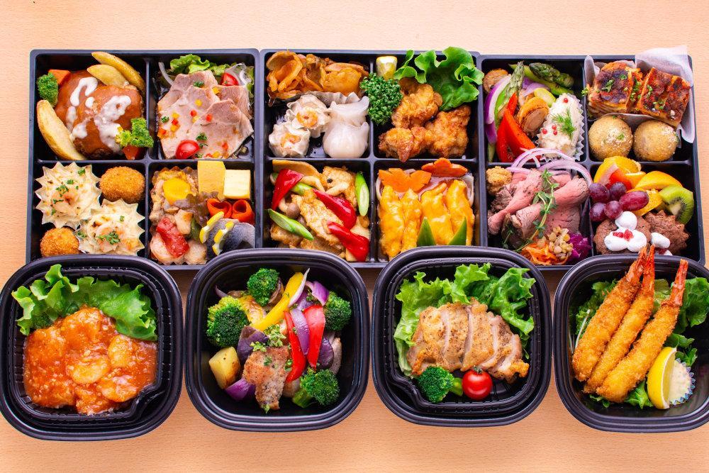 函館市内の飲食店が作った「夕食用のおかずセット」が夕方までに職場に届く