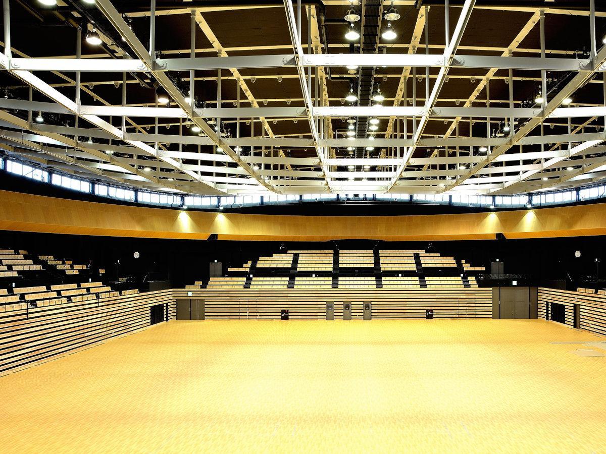 函館アリーナをはじめとする函館市教育委員会所管の施設でイベント制限が当面11月末まで緩和される