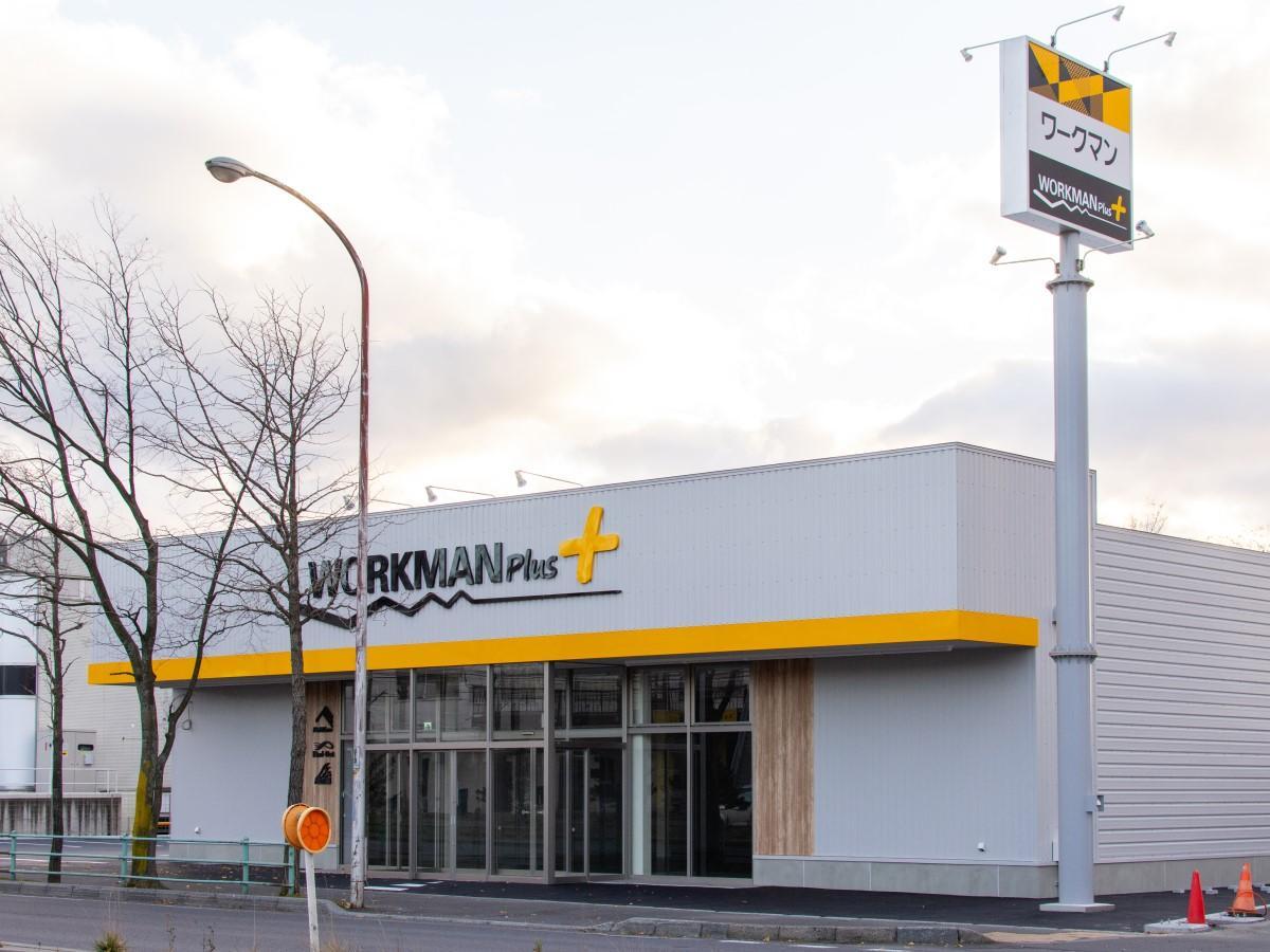 道道函館上磯線(産業道路)沿いにオープンするワークマンプラス函館花園店