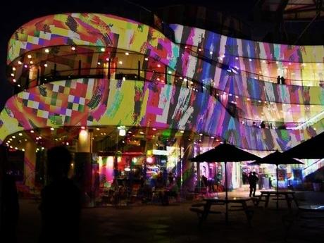横浜ベイクォーターで開催されるイルミネーションイベント「D-K」