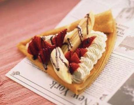「D's Sweet Marche」のチョコと苺とバナナのゴールデントリオ