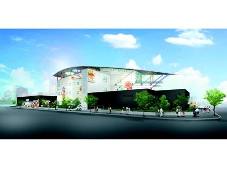 「横浜アンパンマンこどもミュージアム」完成予想図 ©やなせたかし/フレーベル館・TMS・NTV