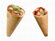 「コーン型」ピザ専門店、横浜市内に2店舗-神奈川初進出