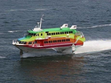 高速船ジェットフォイル