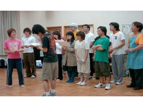 「横浜スタイル」旗揚げ公演「ハナウタ商店へようこそ」稽古風景