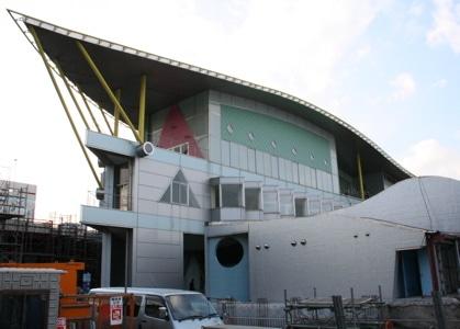 ヨコハマ経済新聞2007年のPV1位になった「横浜アンパンマンこどもミュージアム」(撮影2007年1月)