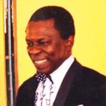 「アフリカンフェスティバルよこはま2008」に登場するオスマン・サンコンさん