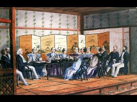 横浜開港資料館で開港をたどる企画展-通商条約締結150周年 - ヨコハマ ...