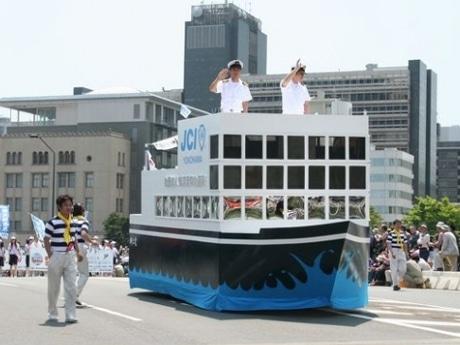 昨年行われた「ザよこはまパレード」の様子
