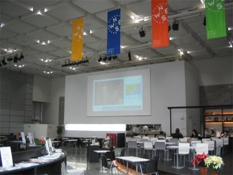 「tvk 文化交流サロン」ワークショップが開催されるヨコハマNEWSハーバー