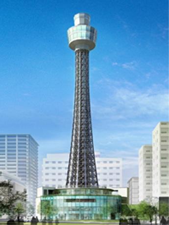 来春リニューアルオープンする横浜マリンタワー(イメージ図)