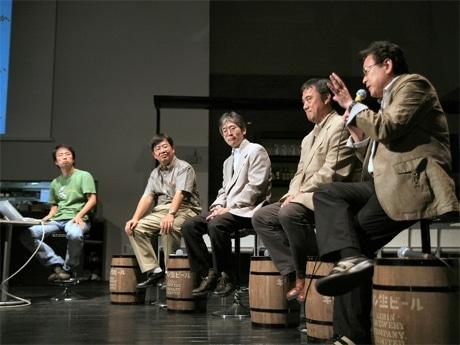 9月に行われた「tvk横濱Future Cafe」の様子