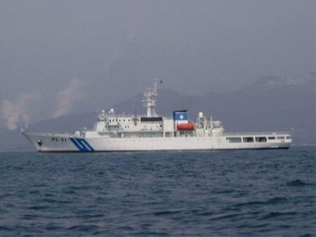 横浜海上保安部が所属する巡視船「いず」