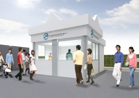 FMヨコハマのサテライトスタジオイメージ