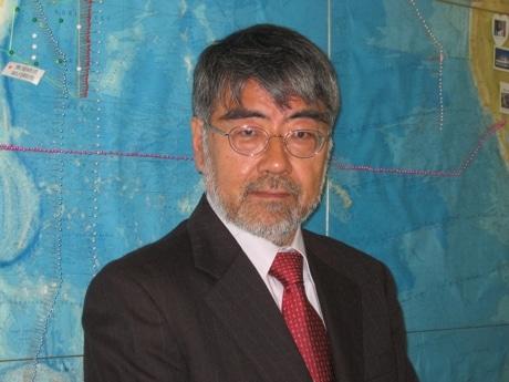 海洋研究開発機構地球環境変動領域の深澤理郎領域長