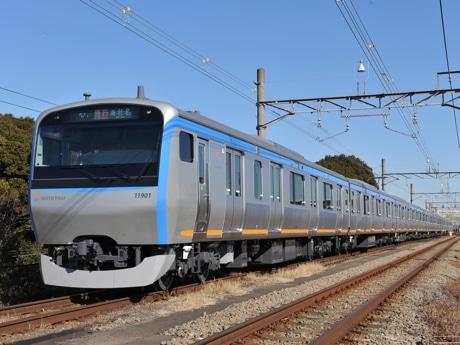 ユニバーサルデザインとバリアフリー化に対応した新系式11000系電車