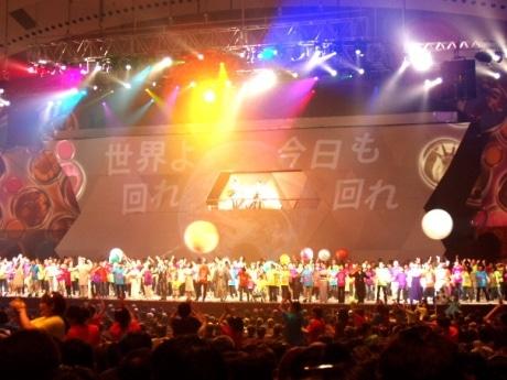 横浜開港150周年記念オリジナルショー「ヴィジョン!ヨコハマ~未来へ。そして紡いできたもの~」