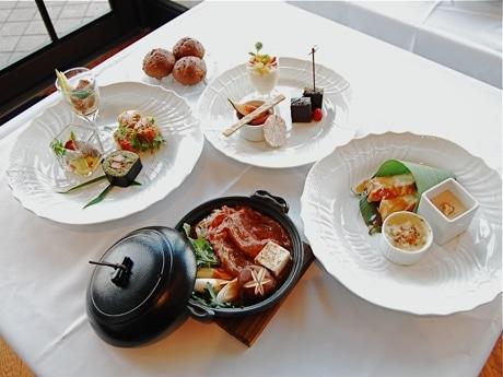 横浜ポート グルメブッフェの料理