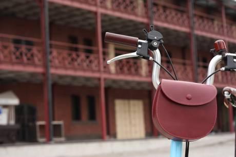 「maware」の自転車用フロントバッグ