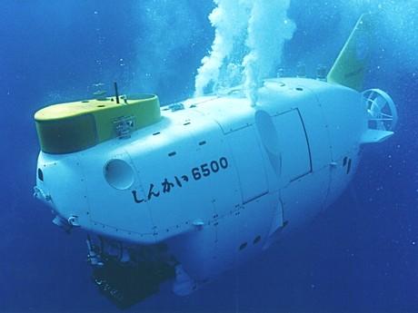 有人潜水調査船「しんかい6500」