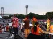 歴史ある野外フェス「本牧ジャズ祭」-ビーサン跳ばし世界選手権も