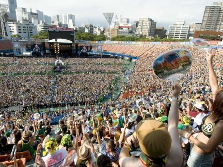 昨年の「横浜レゲエ祭」の様子