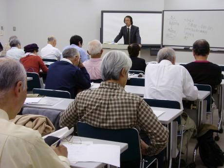 昨年度講座開催の様子(神奈川大学)