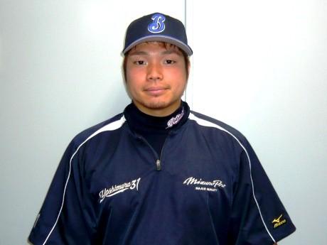 横浜ベイスターズ吉村裕基選手(C)YOKOHAMA BayStars