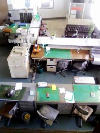 会場となる「横浜専門店会ビル」室内の様子