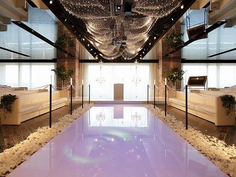 1月15日にリニューアルオープンした挙式会場「ルミエール」