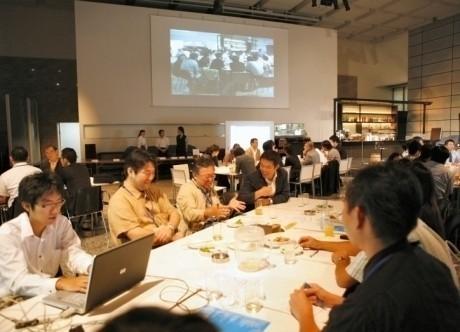 過去の「tvk横濱Future Cafe」の様子