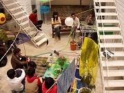 西戸部のアート拠点「ヨコハマアパートメント」で狩野哲郎展