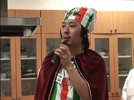 「麺食力」を出版した田中健介さんは日本ナポリタン学会会長も務めている