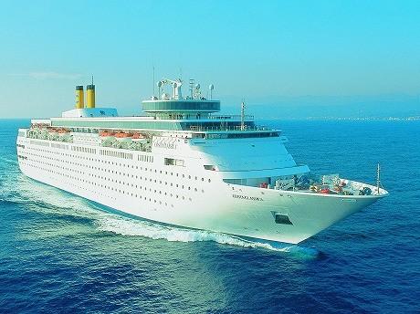 イタリアの大型客船「コスタ・クラシカ」