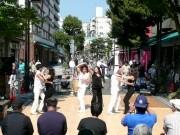 イセザキモール路上で「ラテンフェスタ」-音楽とダンスショー