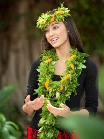 2009年ミスハワイのアリアナ・セイユさん