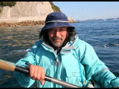 講師を務める海洋ジャーナリストの内田正洋さん