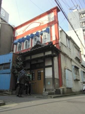 「竜宮プロジェクト」の対象になる元旅館(昭和20年代の建物)